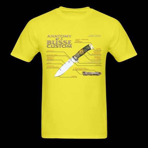 Anatomy of a Busse Custom - Men's T-Shirt