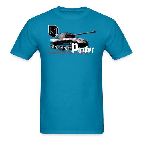 Panther by Armor Journal - Men's T-Shirt