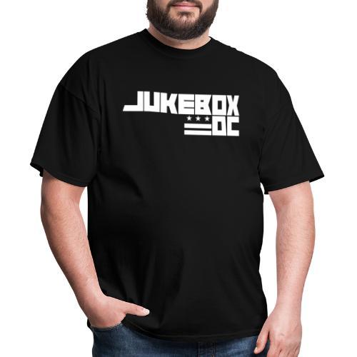 JUKEBOXDC White Logo - Men's T-Shirt