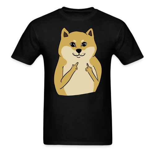 doge finger - Men's T-Shirt