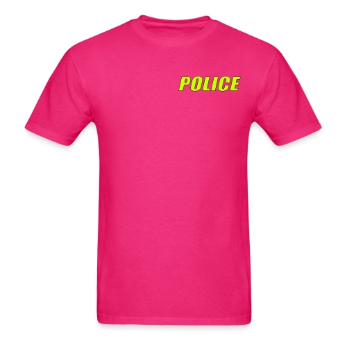 Police High Visibility - Men's T-Shirt