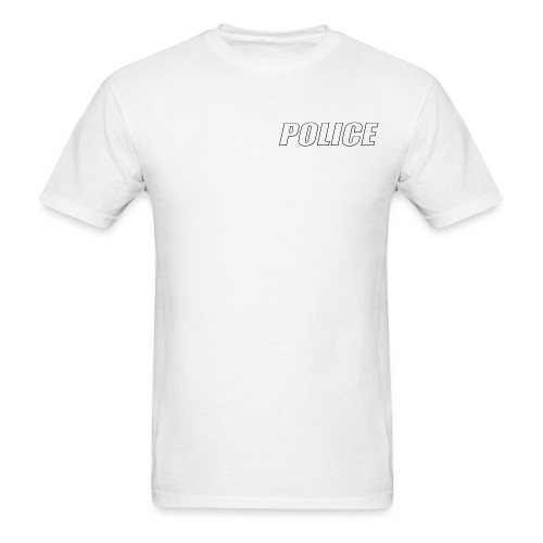 Police White - Men's T-Shirt
