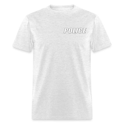 Police White - Men's T-Shirt