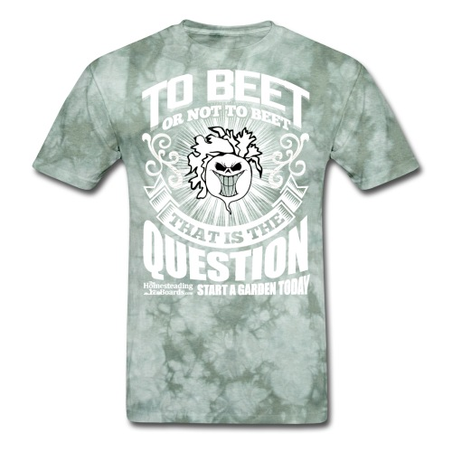 rsz_beet_printwhite - Men's T-Shirt