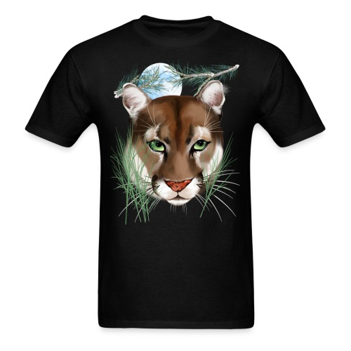 Midnight Puma - Men's T-Shirt
