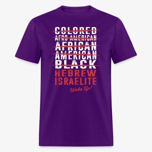 Hebrew Israelite - Men's T-Shirt
