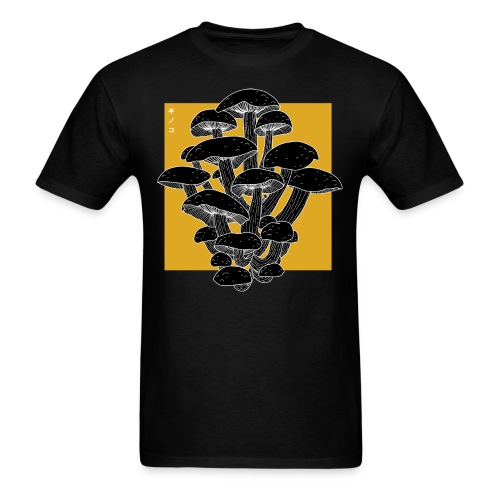 shrooms 2 edited 1 - Men's T-Shirt