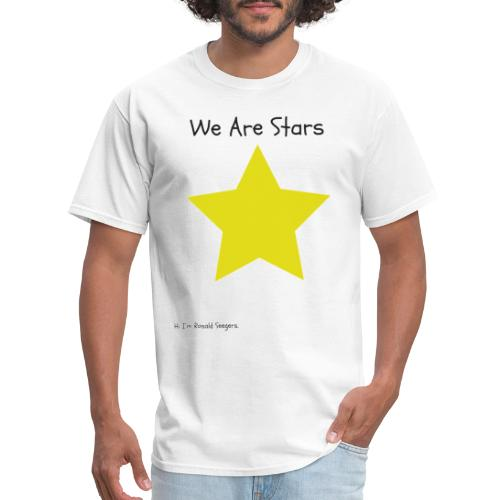 Hi I'm Ronald Seegers Collection-We Are Stars - Men's T-Shirt