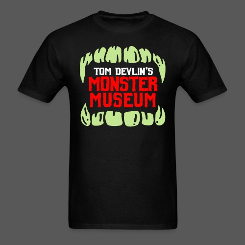 Monster Museum Mouth - Men's T-Shirt