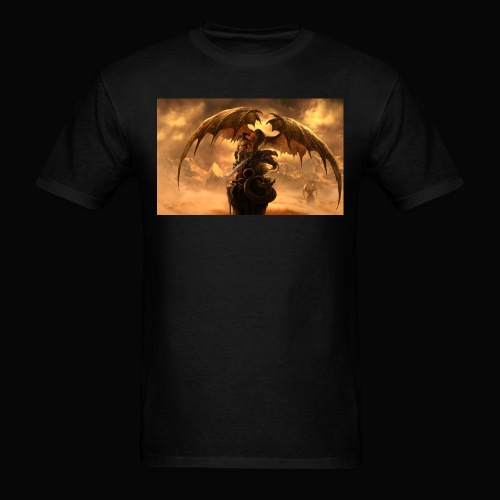 Dragon féroce - Men's T-Shirt