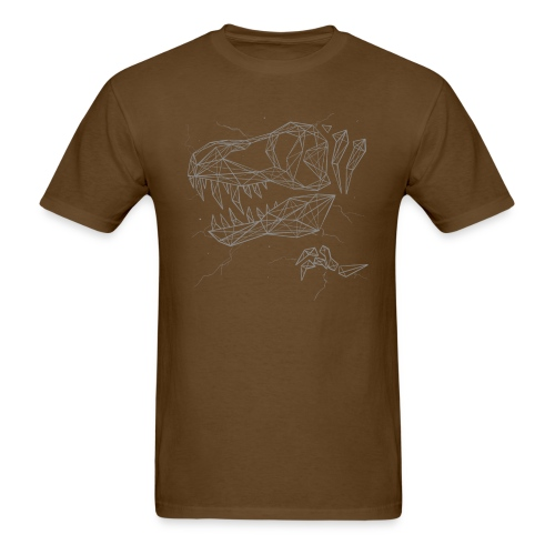 Jurassic Polygons by Beanie Draws - Men's T-Shirt