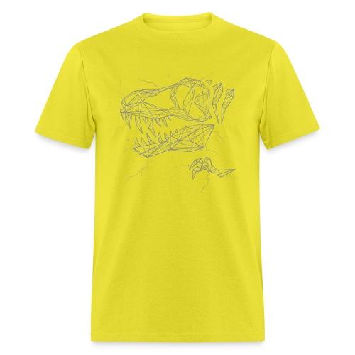 Jurassic Polygons by Beanie Draws - Men's T-Shirt