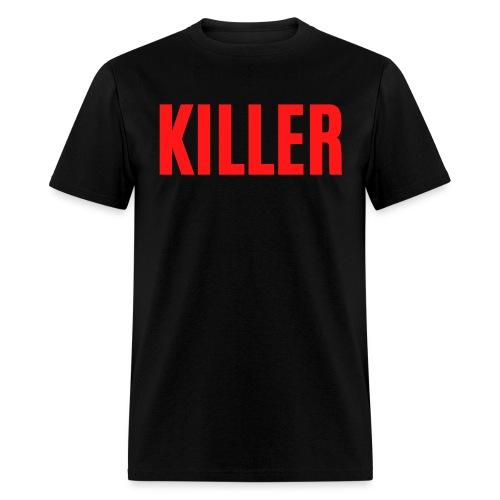 KILLER (thick red letter version) - Men's T-Shirt