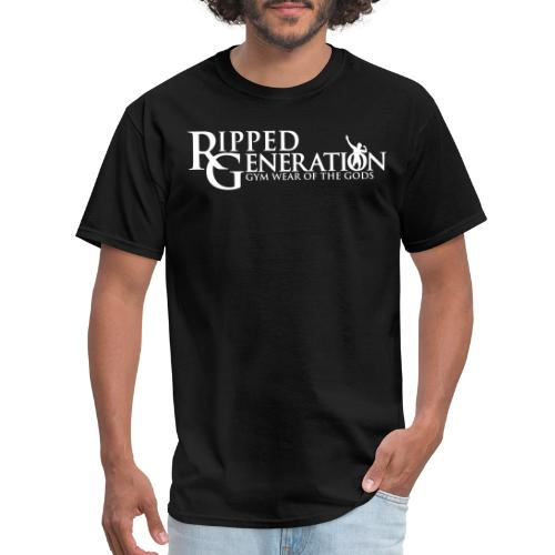 Ripped Generation Gym Wear of the Gods Logo - Men's T-Shirt