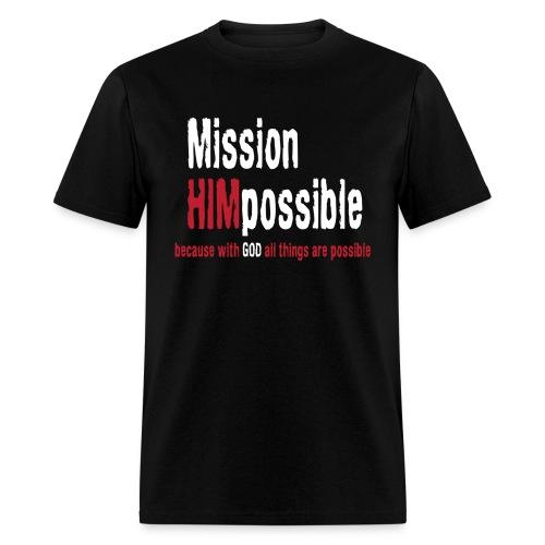 BetterMissionLogoHIGHnew - Men's T-Shirt