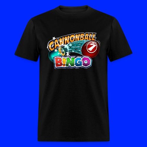 Vintage Cannonball Bingo Logo - Men's T-Shirt