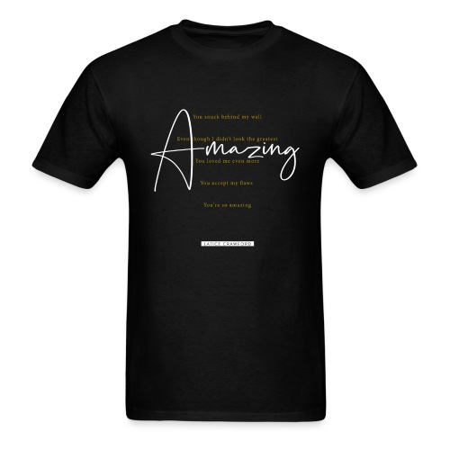 AMAZING (White Design) - Men's T-Shirt