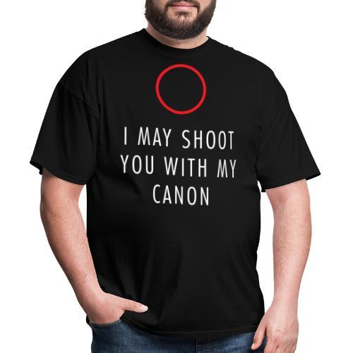 imayshootyou01b - Men's T-Shirt