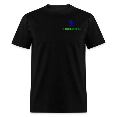PixelRust Logo - Men's T-Shirt