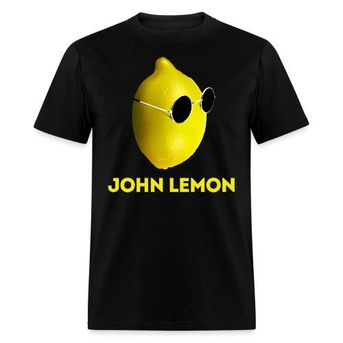 JohnLemon Print1 png - Men's T-Shirt