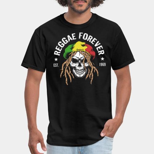 reggae forever rasta jamaica - Men's T-Shirt
