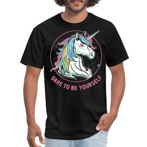unicorn dare utopia - Men's T-Shirt