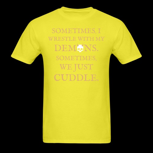 Demon Cuddles - Men's T-Shirt