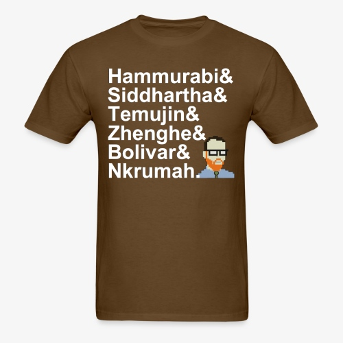 & AP World History Shirt - Men's T-Shirt