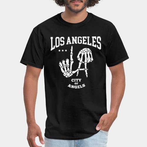 los angeles la city of angels - Men's T-Shirt