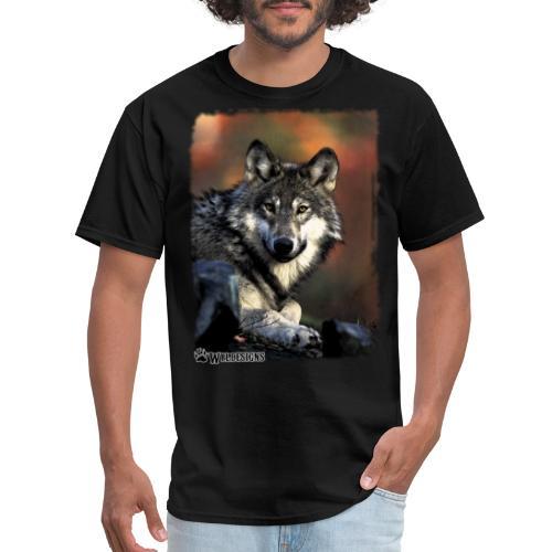 Wolf s Gaze - Men's T-Shirt