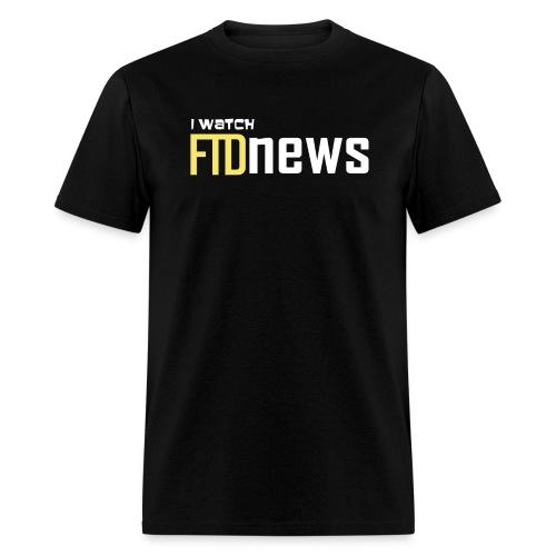 i watch ftdnews png - Men's T-Shirt