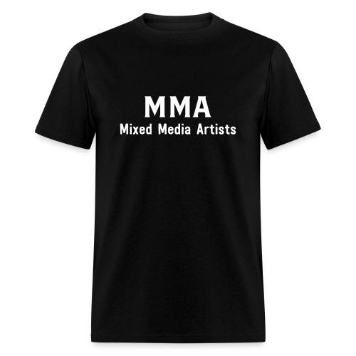 Mixed Media Artists Clothing - Men's T-Shirt