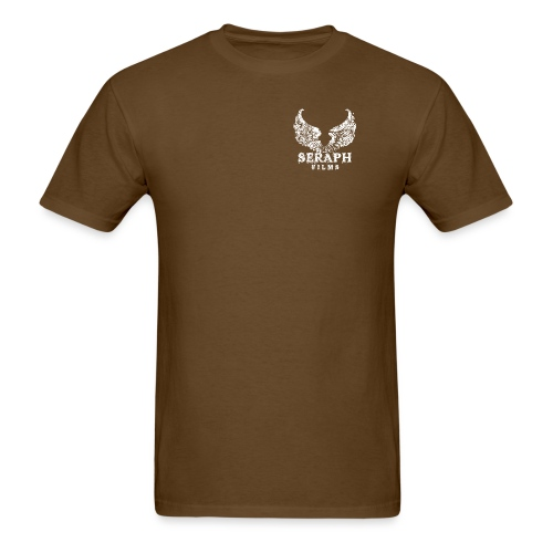 Seraph Films Square Logo White - Men's T-Shirt