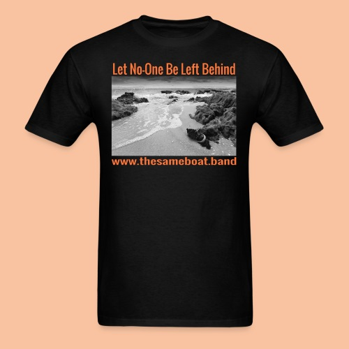 Let No One Be Left Behind - Men's T-Shirt