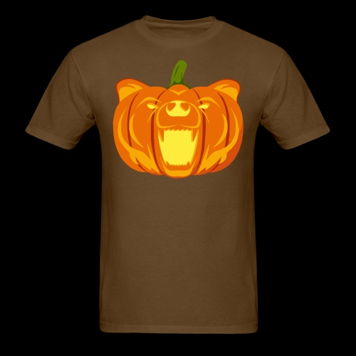 Pumpkin Bear - Men's T-Shirt