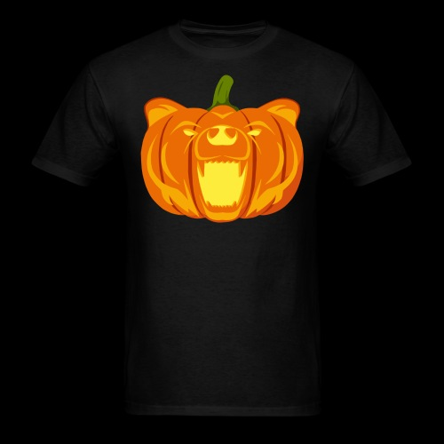 Pumpkin Bear - Men's T-Shirt