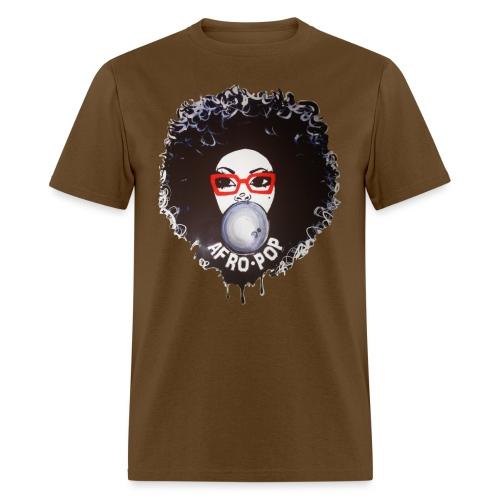 Afro pop_ - Men's T-Shirt