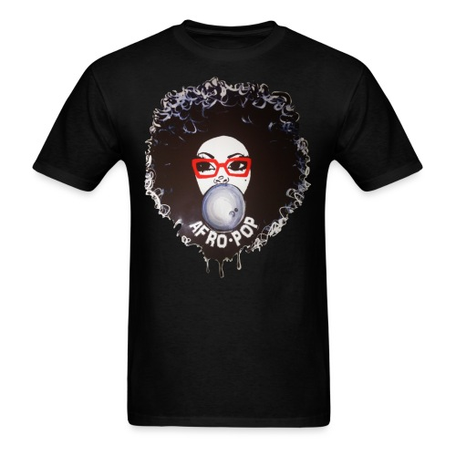 Afro pop_ - Men's T-Shirt