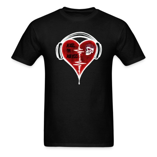 Axelofabyss Music in your heart - Men's T-Shirt