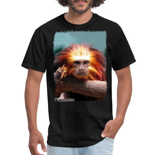 Monkey On Branch - Men's T-Shirt