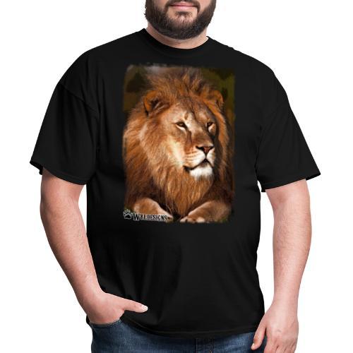 Regal Lion - Men's T-Shirt