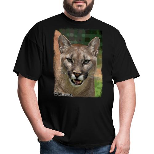 Cougar Stare - Men's T-Shirt