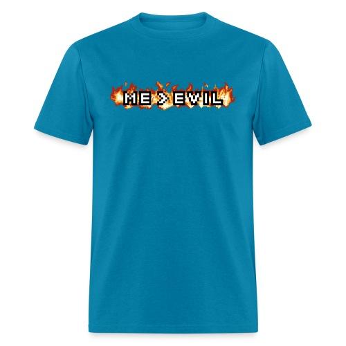 ME v EVIL - Men's T-Shirt