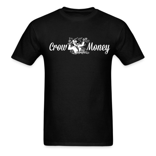 A CrowMoney WHITE - Men's T-Shirt