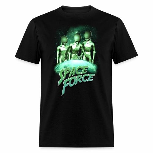 Seek & Destroy   Space Force T-Shirt - Men's T-Shirt