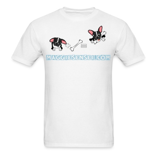 dogs blue 2 - Men's T-Shirt