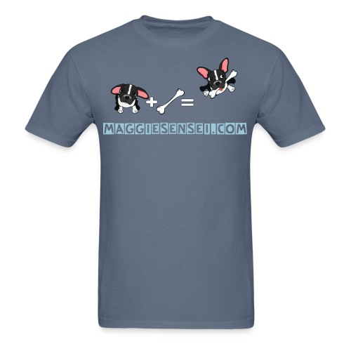 dogs blue 2 - Men's T-Shirt