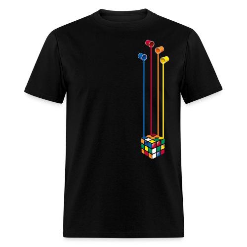 Paint Cube - Men's T-Shirt