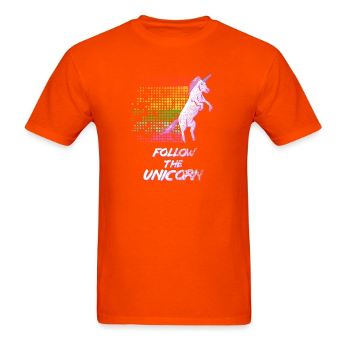 Follow The Unicorn - Men's T-Shirt