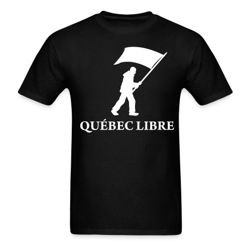 qubec libre medium - Men's T-Shirt
